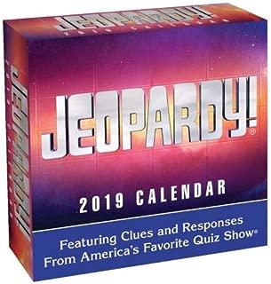 2019 Jeopardy 365 Page-A-day DAILY CALENDAR/Desk Calendar