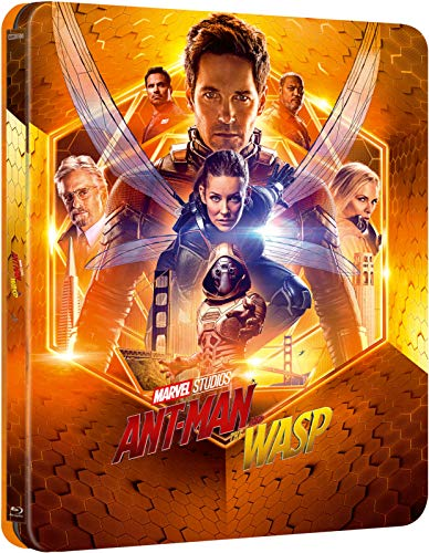 Ant-Man and the Wasp 4K limited Lentikular Steelbook inkl. Deutschem Ton