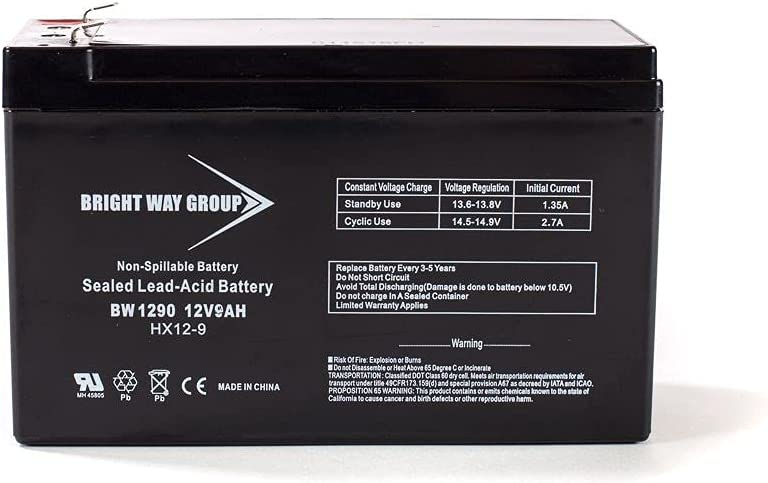 Bright Way Indefinitely Replacement Battery Standby CyberPower CPS825AVR for Shipping included