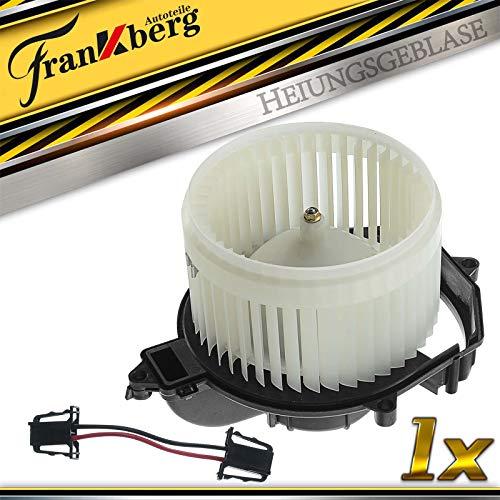 Calefactor ventilador motor ventilador motor 2 polos delantero para Berlingo B9 C4 UA_ UD_ Partner con aire acondicionado automático 2006-2021 6441CG