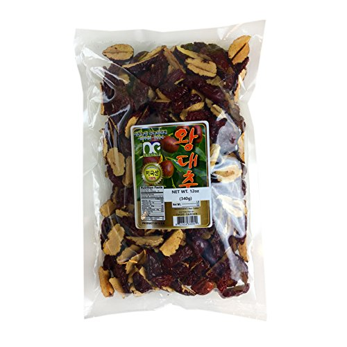 ROM AMERICA 100% Natural Sliced Organic Dried Dates Snacks Chips Fruit Jujube Seedless 12 oz 대추