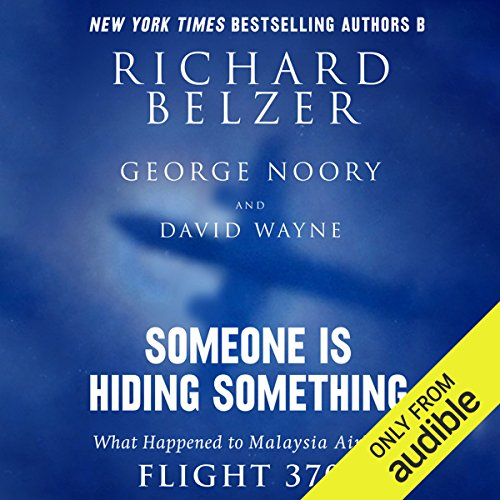 Someone Is Hiding Something audiobook cover art