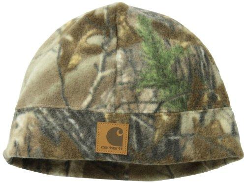 Carhartt Men's Workcamo Fleece Hat,Mossy Oak Break-Up Infinity,One Size