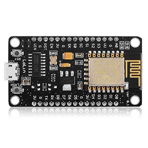 NodeMCU Lua WiFi - Nueva versión de red (modelo ESP8266), estándar de tarjeta de desvelo para compatible con TE437.