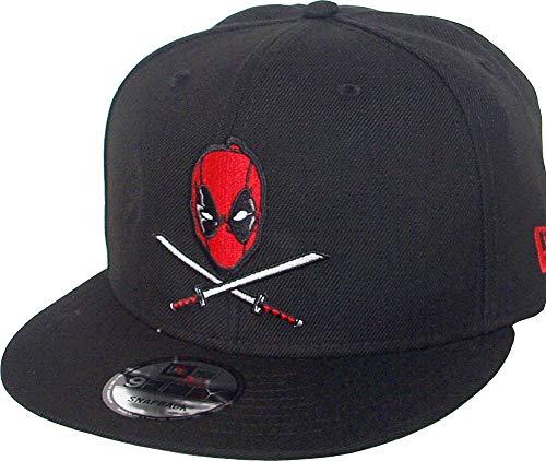 New Era Bait Deadpool Swords Head Black Snapback Cap 9fifty 950 Marvel Basecap Limited Edition