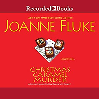 Christmas Caramel Murder audiobook cover art