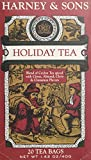 Harney & Sons Fine Teas Black Tea with Holiday Spices - 20 Teabags.