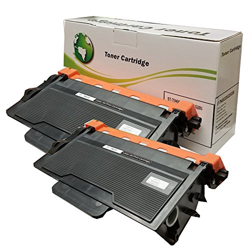 INK4WORK 2 Pack Replacement for Brother TN850 TN-850 TN820 High Yield Toner Cartridge for DCP-L5500DN DCP-L5600DN DCP-L5650DN HL-L5000D HL-L5100DN HL-L5200DW HL-L5200DWT HL-L6200DW HL-L6200DWT