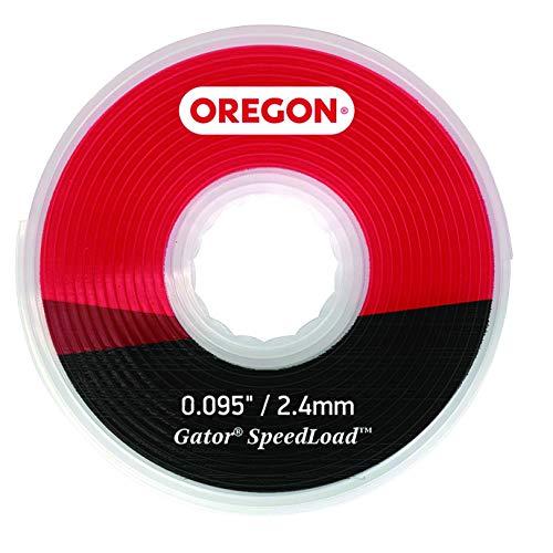 Oregon 24-595-10 Gator SpeedLoad Mähfaden, 2,4 mm, 10er-Pack, LG