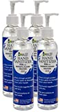 8 oz bottle with Pump Non-Ethyl Hand Sanitizer Gel Isopropyl Alcohol 75 percent Made in USA by Aqua EZ