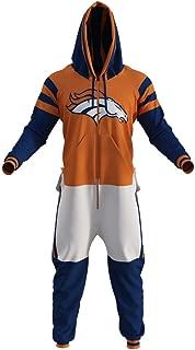 Denver Broncos NFL Adult Onesie by Sportsedo The Makers of Hockey Sockey