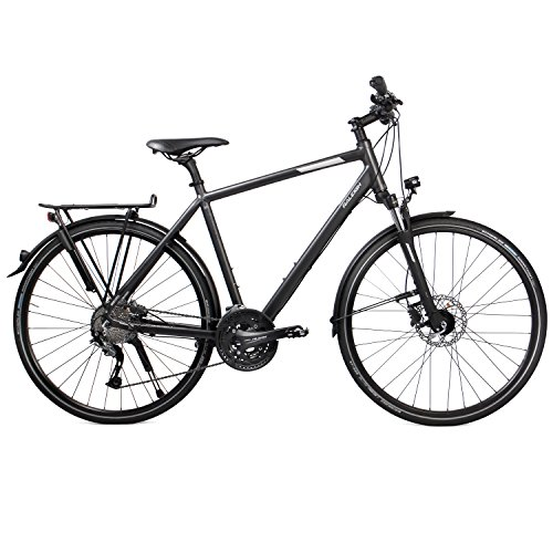 RALEIGH Herren RUSHHOUR 3.0 DISC Fahrrad, Darkgrey matt, 55