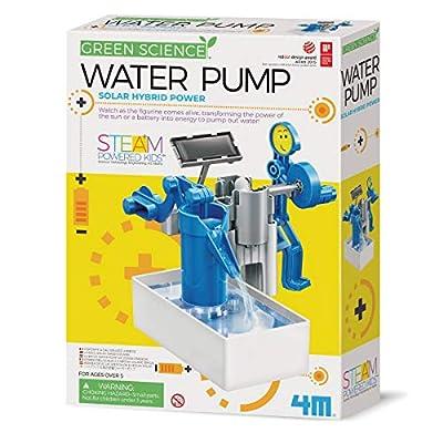 4M 403425 Green Hybrid Solar Power Water Pump Science Kit
