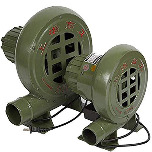 YANGSANJIN Elektrische Centrifugale Air Blower, Pomp Fan, voor Barbecue Verbranding Opblaasbare Kasteel Opblaasbare Trampoline, Fan, Handmatige Forge Iron Gear Forge Blower 150W