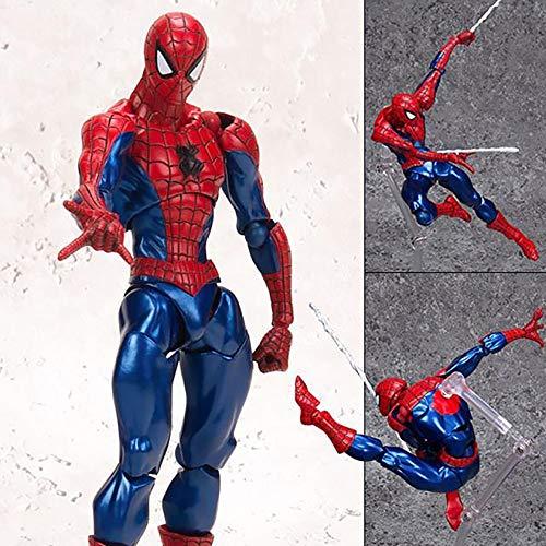 Muñeca Kaikyodo Yamaguchi-Hierro del Estilo de Spider-Man Venom Slaughter Juntas Manos a la muñeca Modelo de Juguete de Regalo (Color : B)