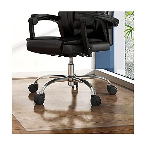 Alfombrilla rectangular para silla de trabajo pesado de PVC transparente, resistente de 1,5 mm/2 mm/3 mm de grosor, alfombrilla dura para el suelo, antideslizante, antideslizante