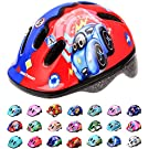 meteor Helmet For Baby Kids Toddler Childrens Boys Cycle Safety Crash Helmet Small Sizes For Child MTB Bike Bicycle Skateboard Scooter Hoverboard Riding Lightweight Adjustable Breathable MV62