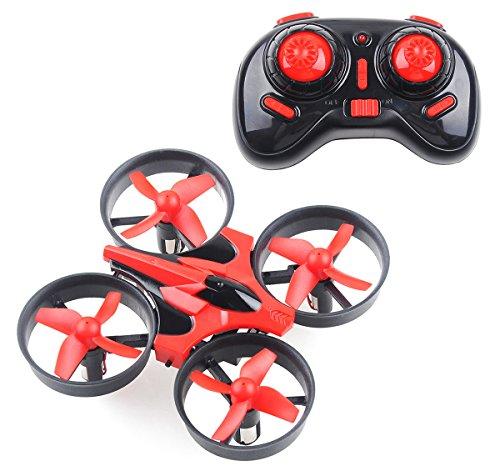 nihui ProAcc RTF Quadcopter Mini UFO Drone 2.4G 4CH 6 Axis Blade Inductrix Headless Mode Red