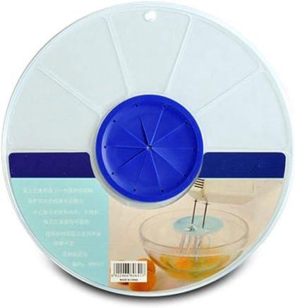 Preisvergleich für Rekkles Große Rührschüssel Deckel Spritzschutz Anti Splash Abdeckung Mischer Egg Basin Deckel Ei-Creme Light Cream Spritzschutz