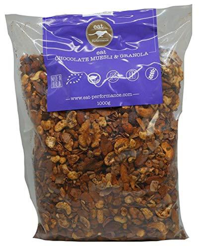 eat Performance® Schoko Müsli (1000g) - Bio, Paleo, Glutenfreies Granola Aus 100% Natürlichen Zutaten