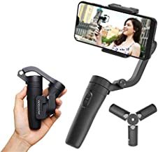 FeiyuTech Official VLOG Pocket 3 Axis Smartphone Gimbal Handheld Stabilizer Vlog YouTube TIK Tok Live Video Fits iPhone SE...