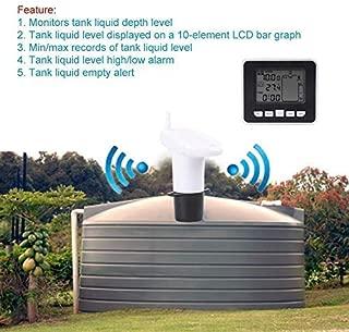 win-full Ultrasonic Level Gauge Tank Level Gauge Indoor Temperature Liquid Temperature Indicator