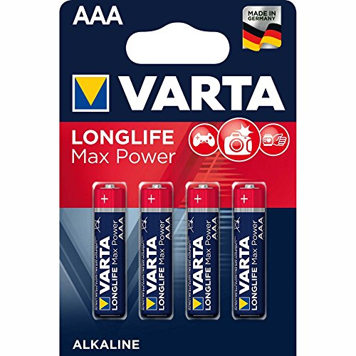Varta Max Tech Micro AAA LR03 4 Stück
