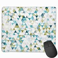 抽象的な幾何学模様 マウスパッド 25×30 大判 ノンスリップ 防水 ゲーミング おしゃれ マウスの精密度を上がる