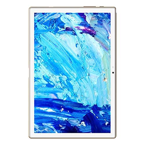 Blackview Tab8E Android 10 タブレット 10.1インチ アンドロイド tablet RAM 3GB + ROM 32GB 1920x1200IPSディスプレイ 13MPカメラ Wi-Fi Bluetooth5.0 GPS対応 【1年間保証】 (gold)