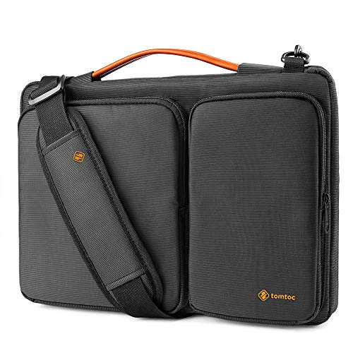 tomtoc Laptop Shoulder Bag for Microsoft Surface Laptop 3/2/1, Surface Book 2/1, 360 Protective Case Fit 13 Inch Old MacBook Air, MacBook Pro Retina 2012-2015, Waterproof Sleeve with Accessory Pocket