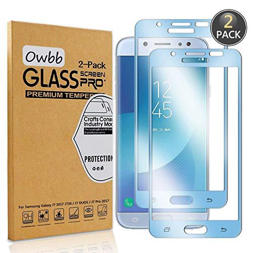 Owbb [2 Unidades Azul Vidrio Templado Protector
