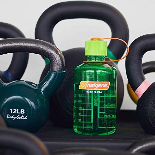 Nalgene Tritan Narrow Mouth BPA-Free Water Bottle, Melon Ball, 32 oz