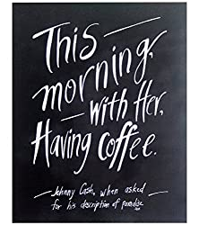 Coffee print gift idea for push present