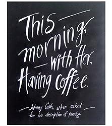 Coffee print gift idea for push present
