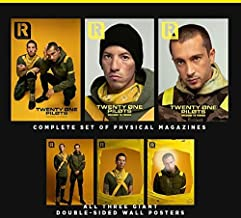 Twenty One Pilots in Rock Sound Magazine, October 2018 | ALL 3 COVERS