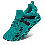 Damen Road Running Sneakers Fashion Sport Workout Gym Jogging Wanderschuhe,41 EU,Blauer See
