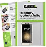 dipos I 6X Schutzfolie matt kompatibel mit BQ Aquaris U Plus Folie Bildschirmschutzfolie