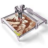 Máquina de Grabado y Corte Láser ATOMSTACK A5 Pro 40W, Adecuada para Grabado en Madera y Metal, Enfoque Fijo de Alta Precisión, Nuevo Diseño de Protección Ocular, área de Grabado de 410 * 400 mm