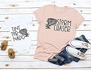 Mommy and Me Shirts, Storm Chaser Tiny Tornado Mother Daughter Shirts, Mommy and me matching shirt,s Mother Son Shirts, Mother Daughter Tees