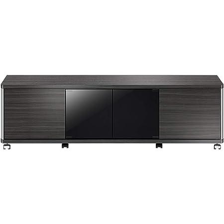 朝日木材加工 テレビ台 GD style 60型 幅140㎝ アッシュグレー 収納付き キャスター付き AS-GD1400H