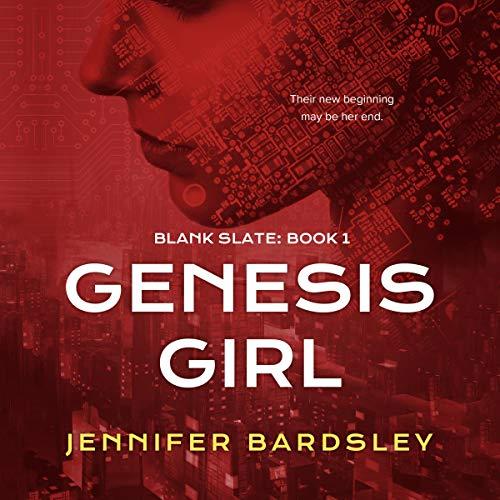 Genesis Girl audiobook cover art
