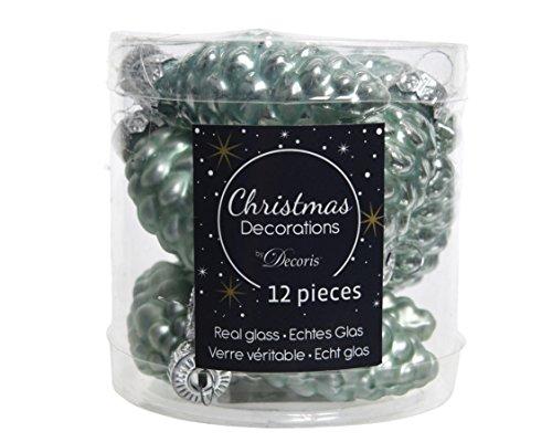 Kerstballen kerstballen kerstballen boomballen eucalyptus 60 mm hoogte