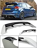 VXMOTOR for 2013-2017 Ford Focus 4DR Hatchback ABS Plastic Rear Roof Trunk Wing Spoiler RS Style