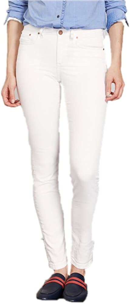 Boden White Cropped Jeans Trouser Pants WC139 Trousers Size US 4 P