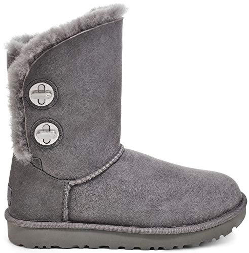 UGG Classic Short Turnlock Boot Charcoal 9