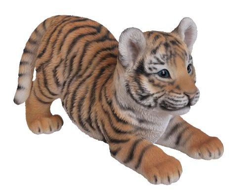 Vivid Arts Playful Tiger Cub Resin Ornament