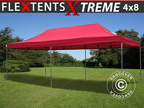 Dancover Vouwtent/Easy up tent FleXtents Xtreme 60 4x8m Rood