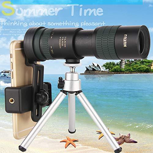 DishyKooker Fernglas High Power HD Zoom Monokular Präzise Teleskop Tasche Binoculo Jagd Optisches Prisma Zielfernrohr