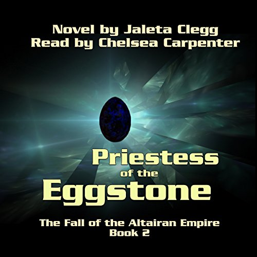 Priestess of the Eggstone audiobook cover art