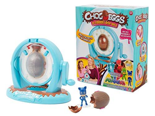 Giochi Preziosi Chocoeggs La Fabbrica PJ Masks, Playset per Creare Uova di Cioccolato con Sorpresa, CHP00000